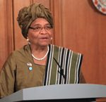 Liberian President Ellen Johnson Sirleaf photo