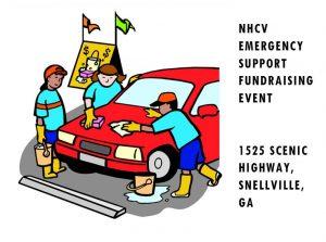 NHCV car wash graphic