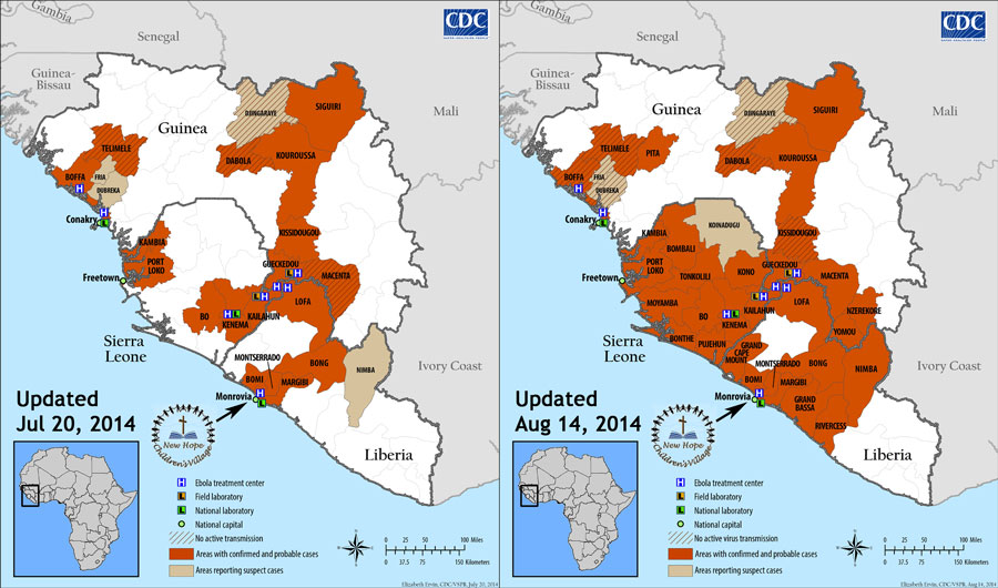 CDC West Africa Ebola Jul vs Aug