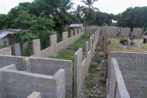 photo New Hope Children's Village Help New School Walls Go Up