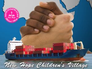 graphic for Help prepare cargo shipment to New Hope Children's Village
