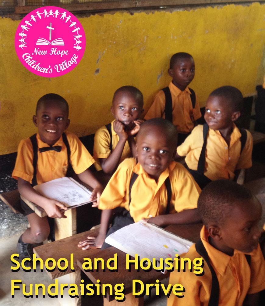 photo New Hope Children's Village children in school