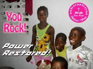 photo New Hope Children's Village children