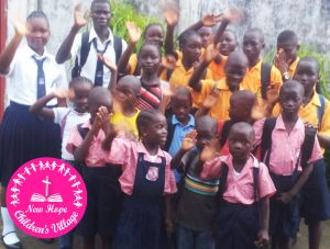 photo New Hope Children's Village waving