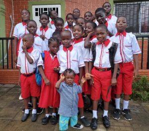 new hope children's village children at home