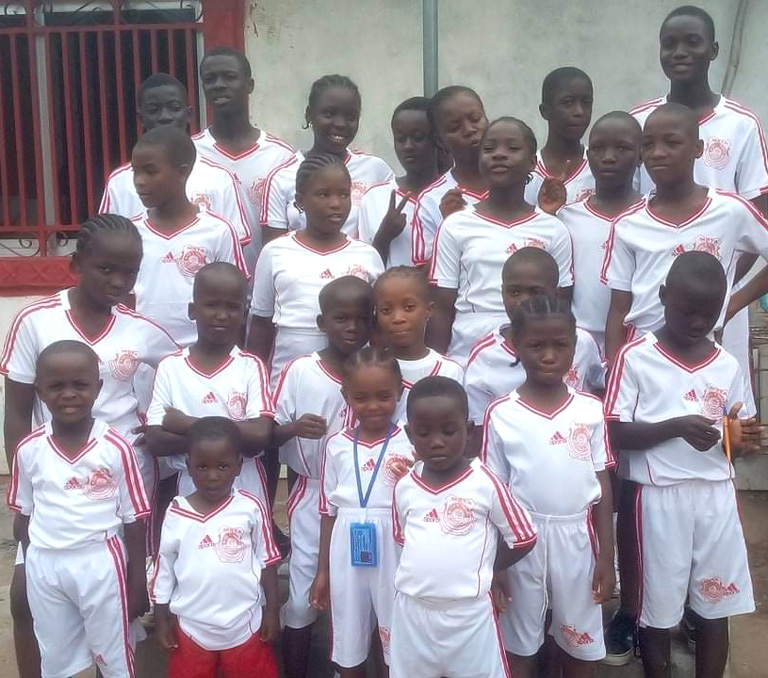 the children of New Hope Children's Village